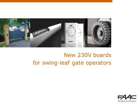 for swing-leaf gate operators
