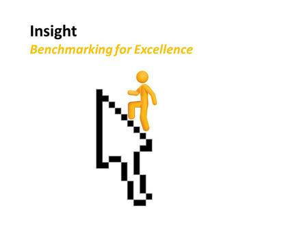 Insight Benchmarking for Excellence