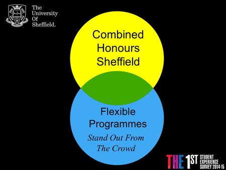 Combined Honours Sheffield Flexible Programmes Stand Out From The Crowd.