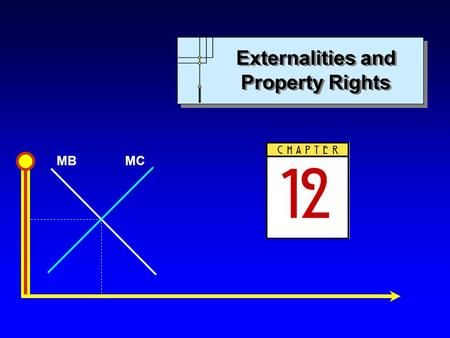 MBMC Externalities and Property Rights. MBMC Copyright c 2007 by The McGraw-Hill Companies, Inc. All rights reserved. Chapter 12: Externalities and Property.