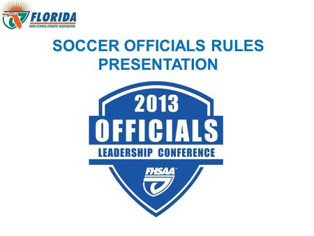 SOCCER OFFICIALS RULES PRESENTATION. INTRODUCTION Alex Ozuna Assistant Director of Athletics or ext. 320 Administrator for Boys Soccer.