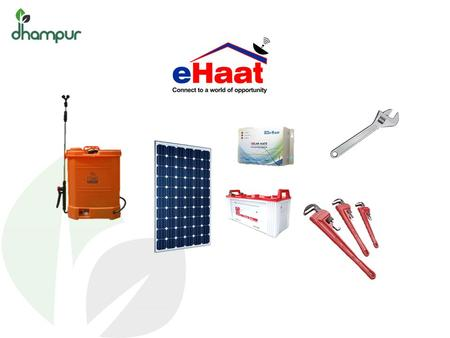 ehaat Shop eHaat is an internet enabled rural distribution business with a 'last mile' network of village level Channel Partners eHaat centres are currently.