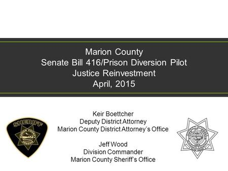 Keir Boettcher Deputy District Attorney