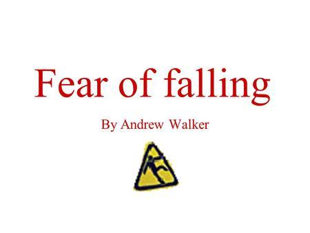 Adult falling fear older Lust