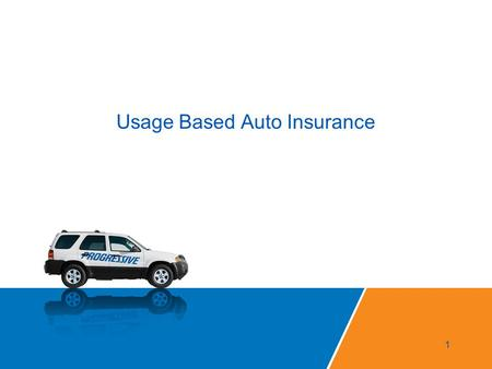 Usage Based Auto Insurance 1. Snapshot Marketing Launched March 14 th, 2011 … after 15 years of development work 2.