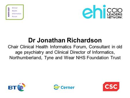 Dr Jonathan Richardson