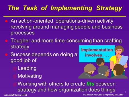 The Task of Implementing Strategy