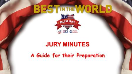JURY MINUTES A Guide for their Preparation. This presentation is intended to offer suggestions for the proper preparation of Jury Minutes. The verbiage.