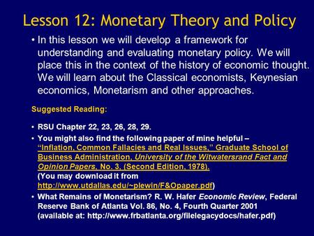 What is Fiscal Policy?