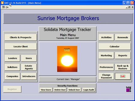 In this tutorial I will be taking you through how the clients folder works in the online version of Solidata Mortgage Tracker.