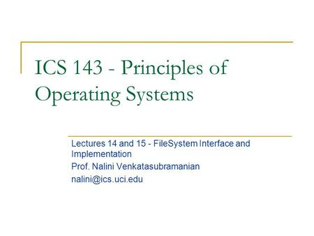 operating systems implementations 3 operating system design and implementation • start by defining goals and  specifications • affected by choice of hardware, type of system.