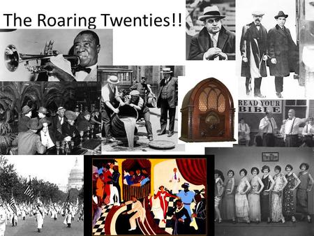 The Roaring Twenties!!. The Red Scare With the communist takeover in Russia (the USSR) many Americans became even more fearful of American supporters.