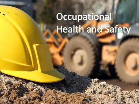 Occupational safety and health is an area concerned with protecting the safety, health and welfare of people engaged in work or employment.