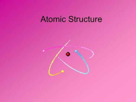 Atomic Structure. Label the diagram with the location of each part of the atom. NEUTRON PROTON ELECTRON ORBITAL NUCLEUS.