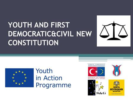 YOUTH AND FIRST DEMOCRATIC&CIVIL NEW CONSTITUTION.