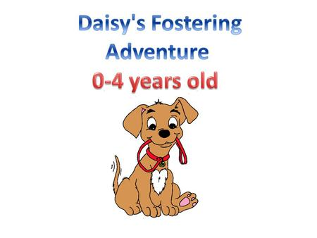 Daisy's Fostering Adventure 0-4 years old.