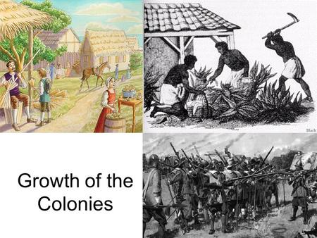 Growth of the Colonies. Slavery has been practiced since the beginning of history. Slavery was used by the Spanish in the West Indies after Columbus's.
