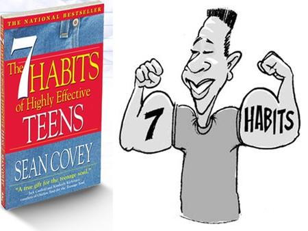 The 7 Habits of Highly Effective Teens Sharpen the Saw Synergize Seek First to Understand, Then to Be Understood Think Win-Win Put First Things First.