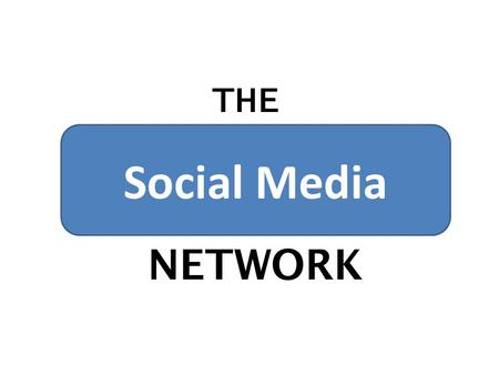 THE Social Media NETWORK. Congratulations, you've put your business into the online domain with a professionally designed website. Your branding looks.