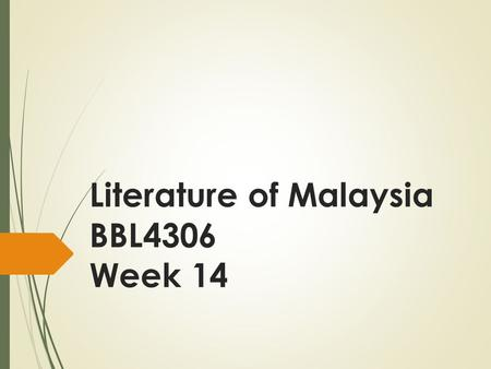 Literature of Malaysia BBL4306 Week 14. Did Sybil Kathigasu leave a legacy?  According to psychologist Dan McAdams, highly generative individuals will.