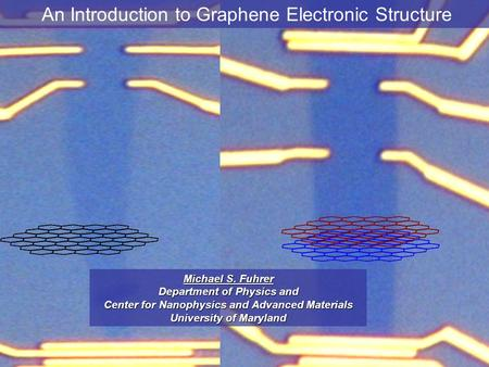 An Introduction to Graphene Electronic Structure
