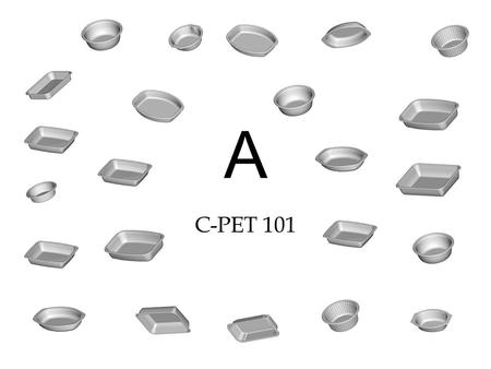 A C-PET 101. What is C-PET? Crystallized Polyethylene Terephthalate Basically, it is PETE with a twist in the manufacturing process Extremely difficult.