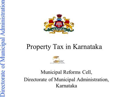 Property Tax in Karnataka