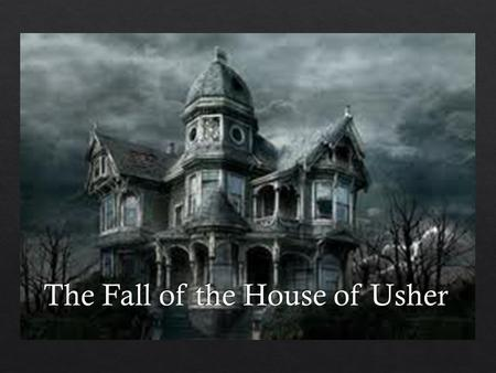the effects of isolation in the fall of the house of usher by edgar allan poe A summary of the fall of the house of usher (1839) in edgar allan poe's poe's short stories learn exactly what happened in this chapter, scene, or section of poe's short stories and what it means.