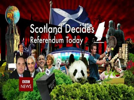 Will Scotland become an Independent Country? Vote 'YES' for independence, 'NO' to remain in the UK.