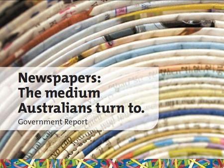 The State of Australian Newspapers June 2010. Established in 2006 by: – News Limited – Fairfax Media (including Rural Press) – APN News and Media – West.