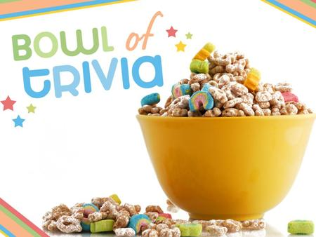 It's crunch time! Select the correct answer to the cereal-related questions.