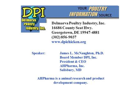 AHPharma is a animal research and product