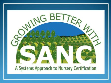 A Systems Approach to Nursery Certification An Introduction for the Greenhouse and Nursery Industry 2014.