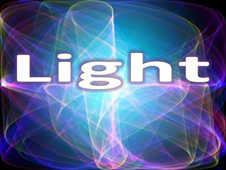 What is light? An electromagnetic wave that can be seen by the human eye. Can travel either in matter or empty space.