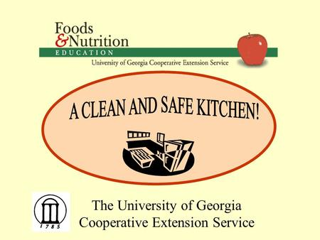 The University of Georgia Cooperative Extension Service.