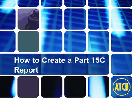 Washington Laboratories (301) 417-0220 web: www.wll.com7560 Lindbergh Dr. Gaithersburg, MD 20879 How to Create a Part 15C Report.