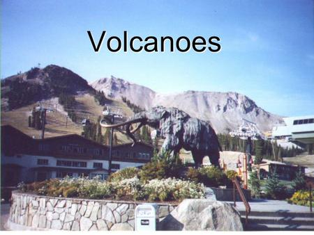 Volcanoes. A Volcano is an area in the earth's crust where molten rock, gases, and ash erupt from. Volcano also refers to the landform that develops.