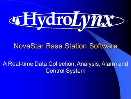A Real-time Data Collection, Analysis, Alarm and Control System NovaStar Base Station Software.