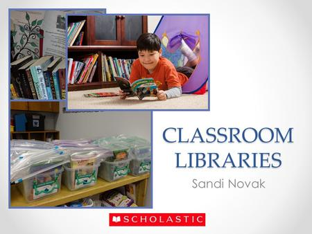 CLASSROOM LIBRARIES Sandi Novak