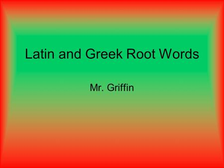 thesis latin root To find the origins of the word unalienable, we can look at the root, alien, which comes from the latin alienus, meaning of or belonging to another.