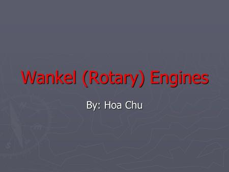 The Rotary Engine: The wonderfull motor that powers all 3rd generation RX-7s