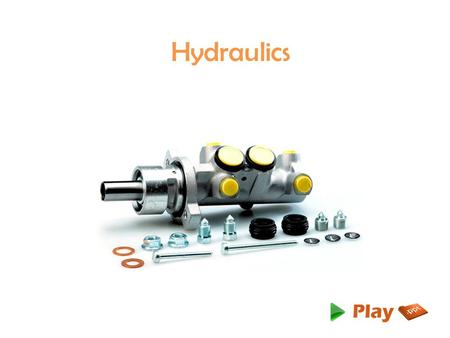 Hydraulics. Introduction Hydraulic machinery is machines and tools which use fluid power to do work. Heavy equipment is a common example. In this type.