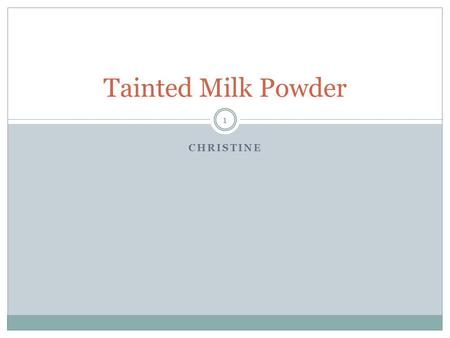 ethics chinas tainted milk question 2 Professional ethics and social responsibility among corporations [] the  the  problem only surfaced nationwide after sanlu's new zealand partner, fonterra   sanlu's melamine-tainted milk crisis in china 2 by the end of september 2008, .