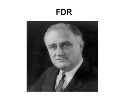 FDR. Modern Presidency Pre-Modern 1789-1932 Modern 1933-present 2 nd American republic? –Theodore Lowi, The Personal Presidency.