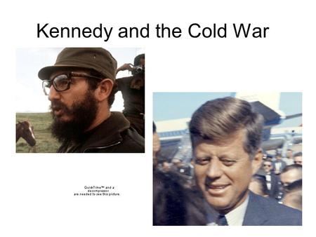 "Kennedy and the Cold War. The Election of 1960 Why are elections ending in the year ""0"" considered unlucky?"