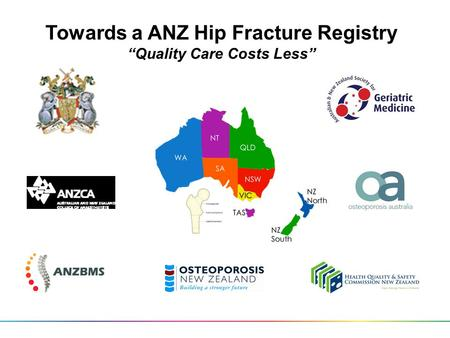 "Towards a ANZ Hip Fracture Registry ""Quality Care Costs Less"""