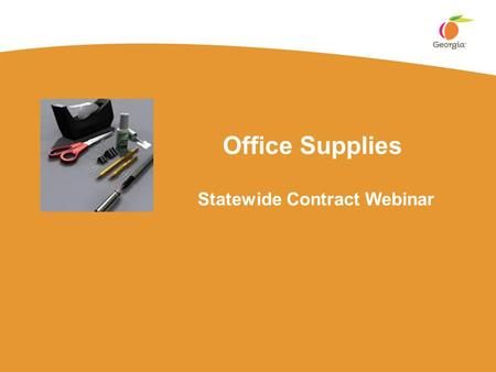 Office Supplies Statewide Contract Webinar. Page 2 Your Presenter Title:  Associate Category Manager Experience