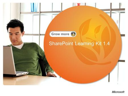 SharePoint Learning Kit 1.4. Agenda About the Speaker What is SharePoint Learning Kit? What's new in 1.4? Basic Workflow Step through use of SLK Course.