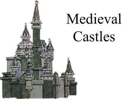 Medieval Castles. Due to a lack of a strong central government, warfare was frequent. As a result, most nobles build their own fortified manor houses.