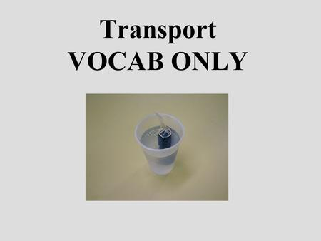 Transport VOCAB ONLY. An INTEGRAL MEMBRANE PROTEIN that moves molecules PASSIVELY across cell membranes by attaching, CHANGING SHAPE, and flipping to.